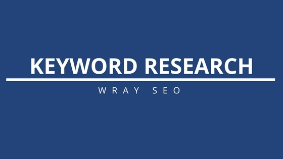 Keyword Research Packages - WraySEO