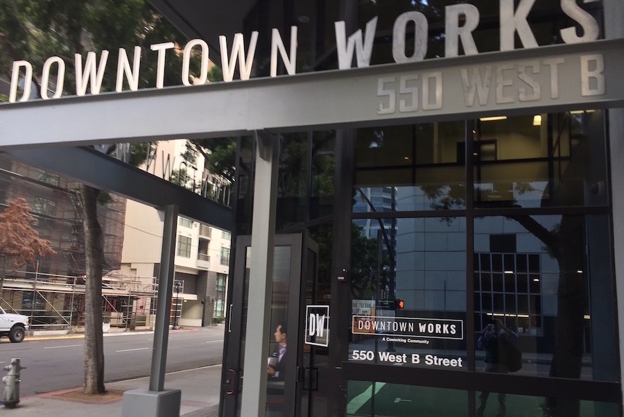 Entrance to Downtown Works SD