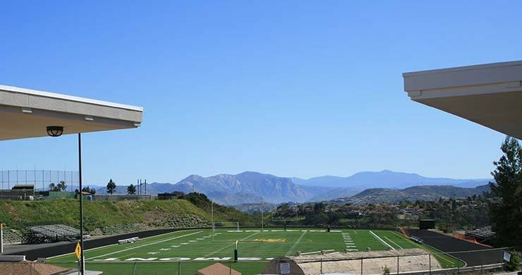 Grossmont College football field